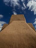 Taos, New Mexico: Saint Francis Di Assi Church Photographic Print by Ian Shive