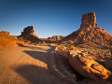 Valley of the Gods Road Photographic Print by Mike Cavaroc