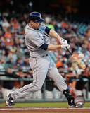 Chase Headley 2013 Action Photo