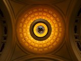 The Central Dome Within the Estacio De Franca, Barcelona, Spain. Photographic Print by Joseph Abelino Roybal