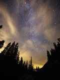 The Night Sky Above the Town of Breckenridge, Co. Photographic Print by Ryan Wright