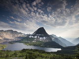 Mountain View and Hidden Lake Along Hidden Lake Trail, Glacier National Park, Montana Photographic Print by Ian Shive