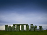 Stonehenge Photographic Print by James Shive