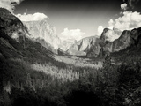 Yosemite Valley, California. Shot in Color and Made B& W Using Silver Efex Pro. Photographic Print by Jon A. Soliday