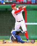 Ian Kinsler 2013 Action Photo