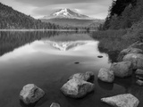 Trillium Lake - Mt Hood Oregon Photographic Print by Aaron Reed