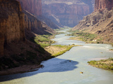 View from Nankoweap Overlook While Rafting the Grand Canyon. Grand Canyon National Park, Az. Photographic Print by Justin Bailie
