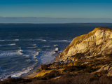 View of Ocean and Gay Head Cliffs, Martha's Vineyard Photographic Print by James Shive