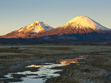 Volcanoes Bolivia's Sajama Nat Park, Northern Chile Photographic Print by Sergio Ballivian