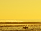 Surfing - California Gold Photographic Print by Steven Rood