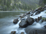 Scenic Image of Salmon River, Idaho. Photographic Print by Justin Bailie