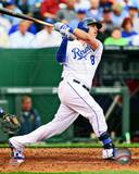 Mike Moustakas 2013 Action Photo