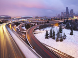 Snow White - Seattle Washington Photographic Print by Aaron Reed