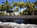 Punalu'U, Hawaii: the Punalu'U Black Sand Beach Photographic Print by Ian Shive