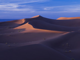 Last Light on Falls and Sand Dunes Photographic Print by Ethan Welty