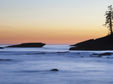 Rocky Coastline at Dusk, West Coast Trail, British Columbia, Canada. Photographic Print by Ethan Welty