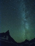 Milky Way over Glacier National Park, Montana. Photographic Print by Steven Gnam