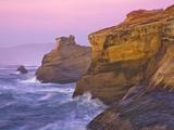 Cape Kiwanda at Sunset Photographic Print by Patricia Davidson