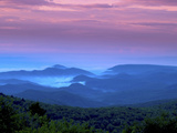 Sunrise on Grandfather Mountain Photographic Print by Melissa Southern