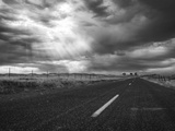 Stanislaus County, California. Shot in Color and Made B&W Using Lightroom4. Photographic Print by Jon A. Soliday