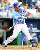 Billy Butler 2013 Action Photo