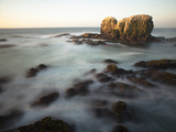 Jagged Rocks of Punta De Lobos Photographic Print by Patrick Brooks Brandenburg