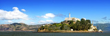 Panoramic Landscape - Alcatraz Island - Prison - San Francisco - California - United States Photographic Print by Philippe Hugonnard