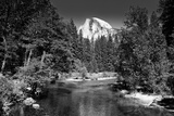 Half Dome - Yosemite National Park - Californie - United States Photographic Print by Philippe Hugonnard