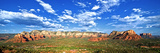 Panoramic Landscape - Thunder Mountains - Sedona - Arizona - United States Photographic Print by Philippe Hugonnard
