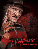 Nightmare on Elm Street Freddy Krueger Movie Tin Sign Tin Sign