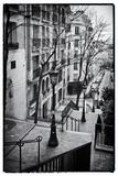 Steps to the Place du Sacré Cœur - Montmartre - Paris - France Photographic Print by Philippe Hugonnard