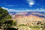 Desert view - Grand Canyon - National Park - Arizona - United States Photographic Print by Philippe Hugonnard