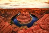 """Vista de """"Lake Powell"""" sobre Colorado desde Arizona y Utah Lámina fotográfica por Philippe Hugonnard"""