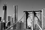 Vue D'Ensemble Du Pont De Brooklyn Photographie par Philippe Hugonnard