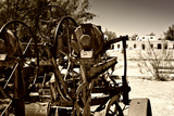 Old abandoned driller - Death Valley National Park - California - USA - North America Photographic Print by Philippe Hugonnard