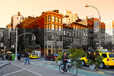 Urban Landscape - Union Square - Manhattan - New York City - United States Photographic Print by Philippe Hugonnard