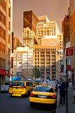 Yellow cab - taxi - Manhattan - New York City - United States Photographic Print by Philippe Hugonnard