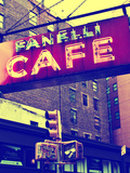 Advertising - Fanelli Cafe - Soho - Mahnattan - New York - United States Photographic Print by Philippe Hugonnard