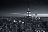 View of city - Manhattan - New York City - United States Photographic Print by Philippe Hugonnard