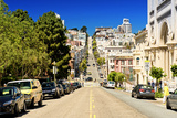 Filbert Street - Downtown - San Francisco - Californie - United States Photographic Print by Philippe Hugonnard