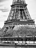 Detail of Eiffel Tower - Paris - France Photographic Print by Philippe Hugonnard