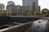 Vue Panoramique Du Memorial World Trade Center Papier Photo par Philippe Hugonnard