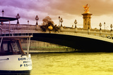 Don Juan - Alexander III Bridge - Paris - France Photographic Print by Philippe Hugonnard