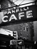 Café Fanelli en SoHo Lámina fotográfica por Philippe Hugonnard