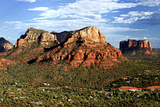 Thunder Mountains - Sedona - Arizona - United States Photographic Print by Philippe Hugonnard