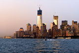 Landscapes - Sunset - Skylines - Mannattan - New York City - United States Photographic Print by Philippe Hugonnard