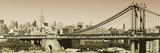 Panoramic - Landscapes - Brooklyn Bridge - New York - United States Photographic Print by Philippe Hugonnard