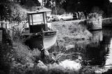 Fishing boat - Vertoux - Loire-Atlantique - Pays de la Loire - France Photographic Print by Philippe Hugonnard