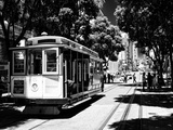 Cable Cars - Streets - Downtown - San Francisco - Californie - United States Lámina fotográfica por Philippe Hugonnard