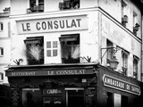 Restaurant Le Consulat - Montmartre - France Photographic Print by Philippe Hugonnard